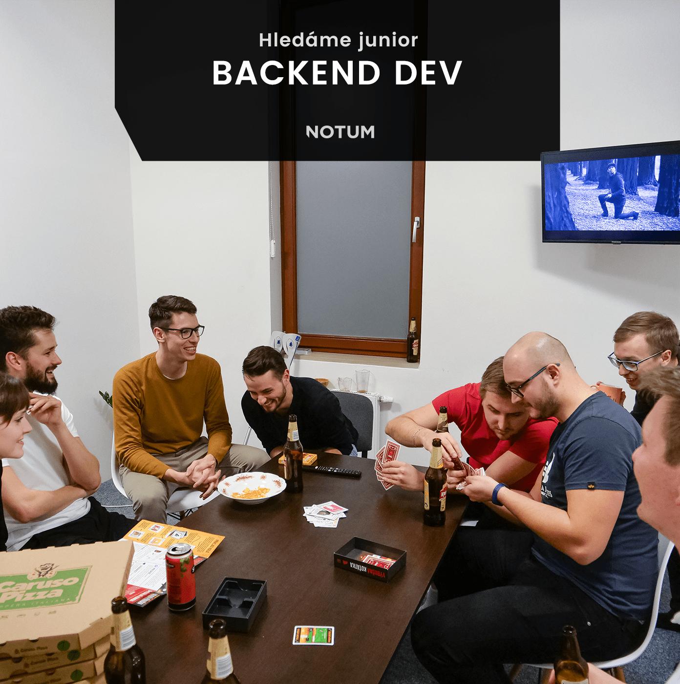 junior backend developer brno